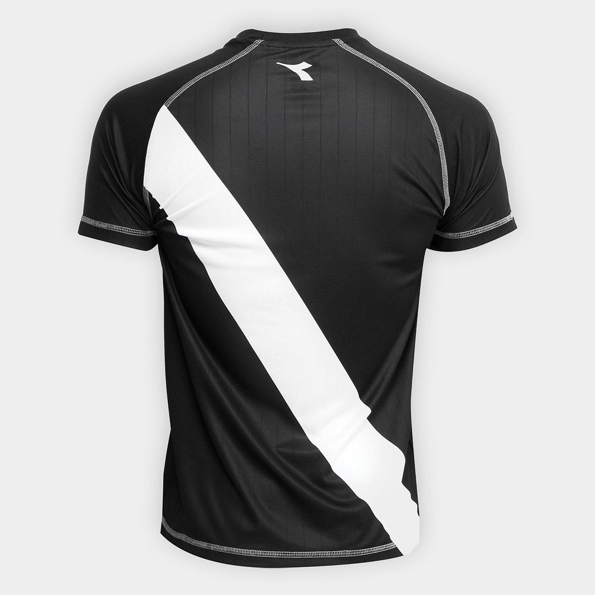 ... Camisa Vasco Transição I 2018 s nº Torcedor Diadora Masculina ... b3976cd33d4e0