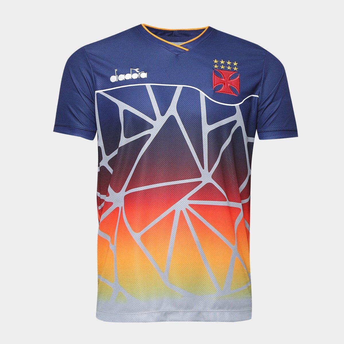 Camisa Vasco Treino 2018 Atleta Diadora Masculina - Compre Agora ... 40aba774eee99