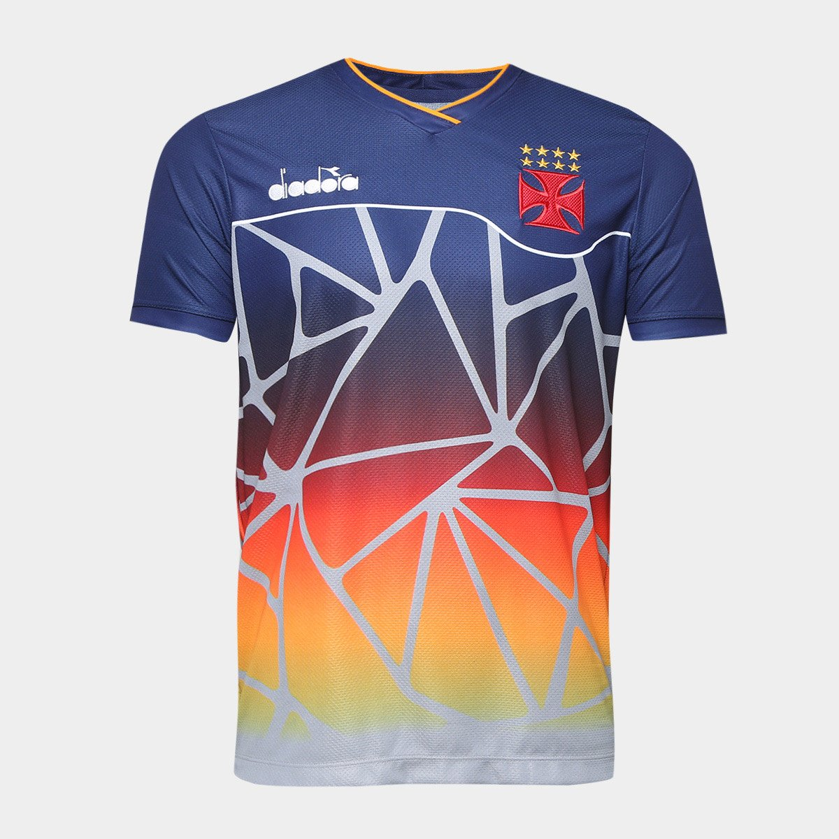 Camisa Vasco Treino 2018 Atleta Diadora Masculina - Compre Agora ... 26bffbb66dafd