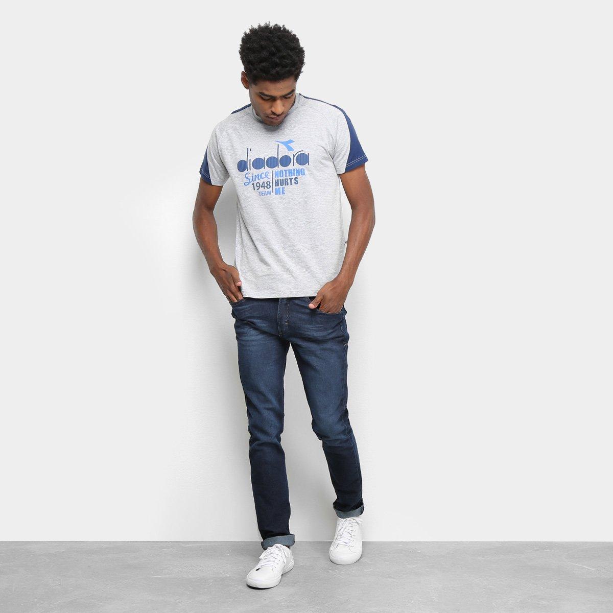 Camiseta Diadora Italy Masculina Mescla