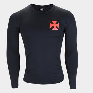 Camiseta Manga Longa Térmica Vasco Masculina