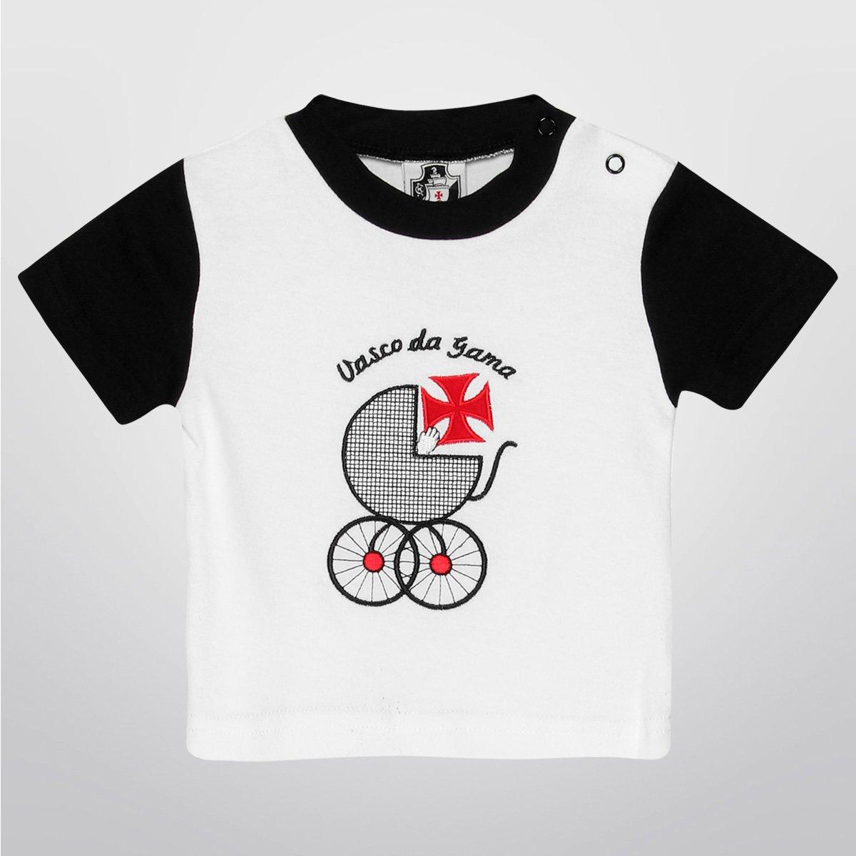 Camiseta Vasco Bebê Carrinho Infantil - Compre Agora  c205b535fb205