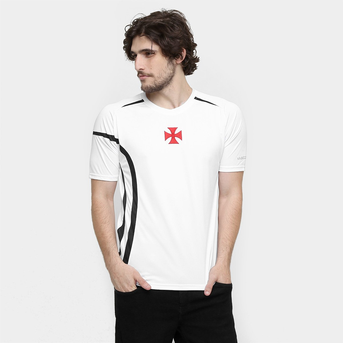 b98dcbfaa7b62 Camiseta Vasco Cruz de Malta - Compre Agora