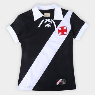 Camiseta Vasco da Gama Cordinha Retrô Mania Feminina