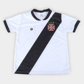 Camiseta Vasco Infantil Torcida Baby Sublimada