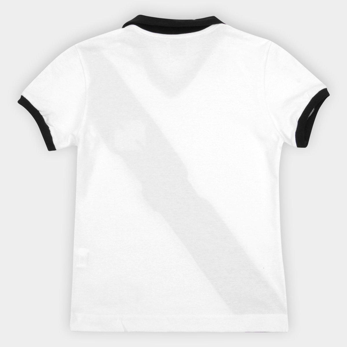 Camiseta Vasco Juvenil Retrô Mania 1988 - Branco e Preto - Compre ... 6840e87d0d148