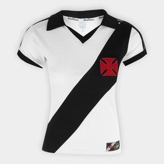 Camiseta Vasco Retrô Mania 1988 Feminina