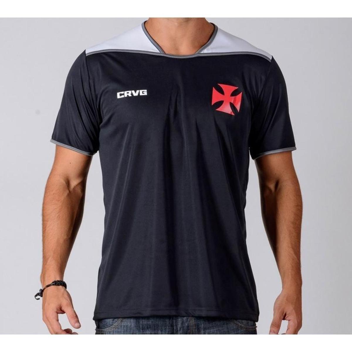 3aff625e29 Camiseta Vasco UP Masculina - Preto e Branco | Shop Vasco