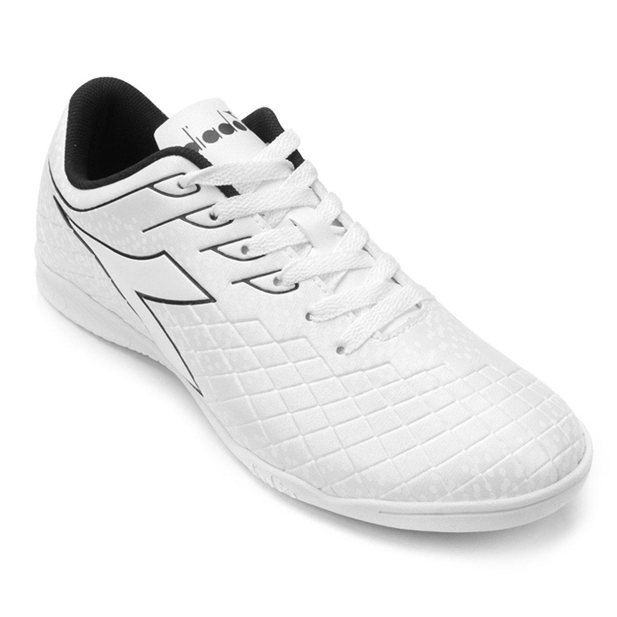 a1344856d9 Chuteira Futsal Diadora Cage - Branco