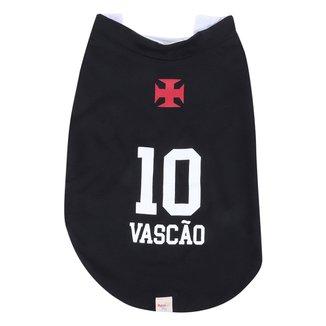 Colete Pet Vasco n° 10 RetrôMania