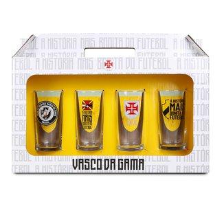 Conjunto de Copos Vasco Cylinder 300 ml - 4 Unidades