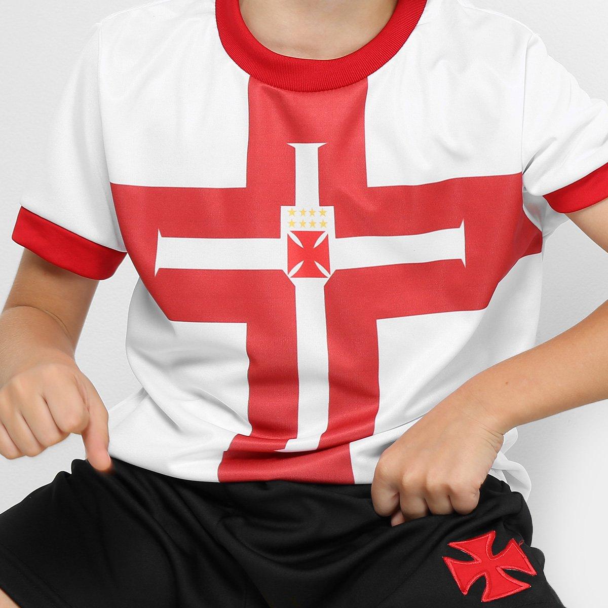 Conjunto Vasco Templária Infantil - Compre Agora  1317ab21b16e7