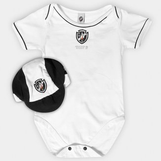 Kit Vasco Infantil Body Vivos e Boné