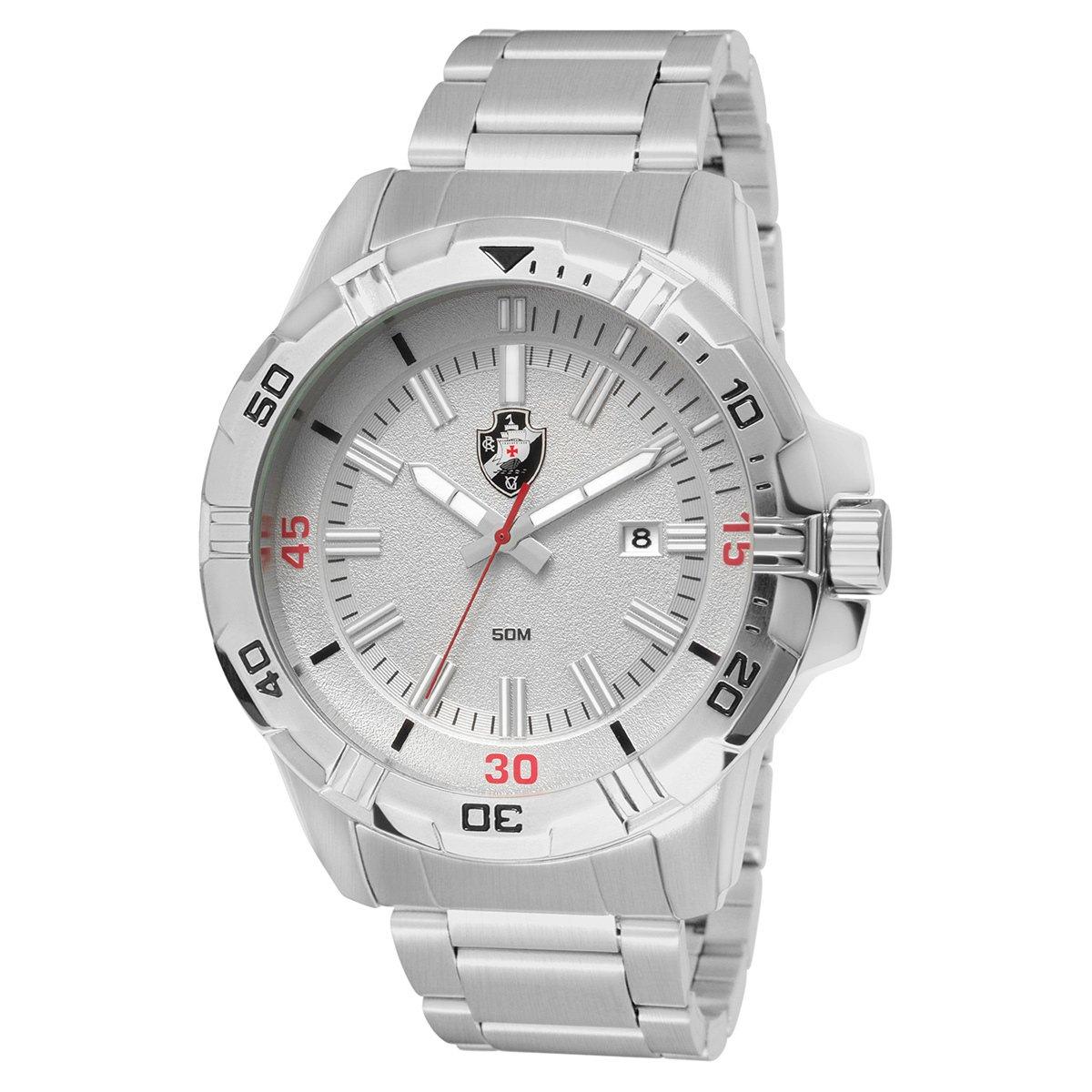 d472fd42318b3 Relógio Technos Vasco Metal Analógico II Calendário - Compre Agora ...